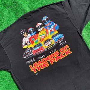 Vintage NASCAR T-shirt 1997 Leaders of The Pack